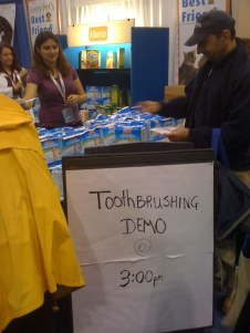 Toothbrush Demo
